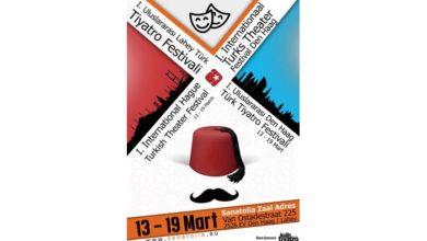 Photo of 1. Uluslararası Lahey Türk Tiyatro Festivali başlıyor!