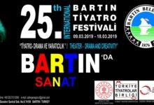 Photo of 25. Uluslararası Bartın Tiyatro Festivali – 2019