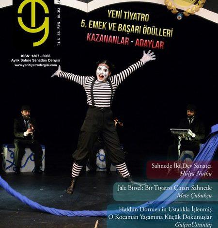 Photo of Yeni Tiyatro Dergisi Nisan 2017